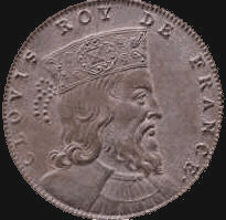 Clovis (Chlodowech or Chlodwig), King of Franks